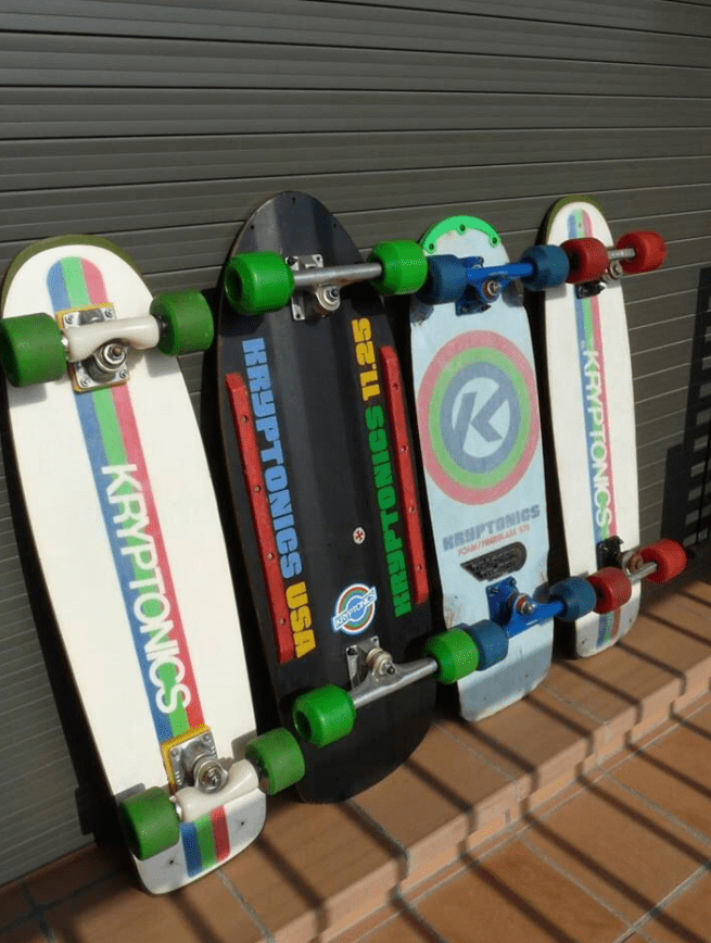 4 kryptonics skateboard