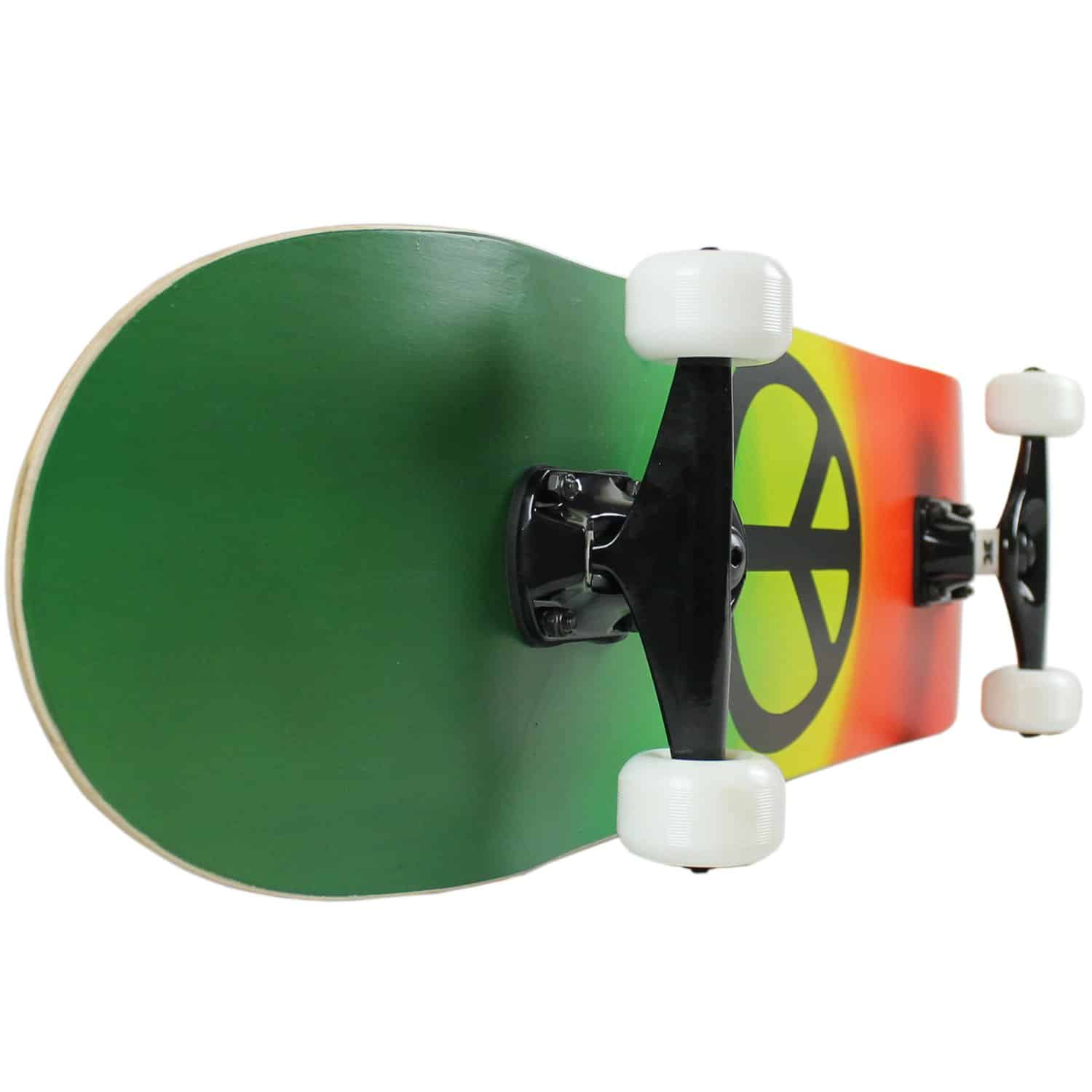 KPC Pro Skateboard with white wheels